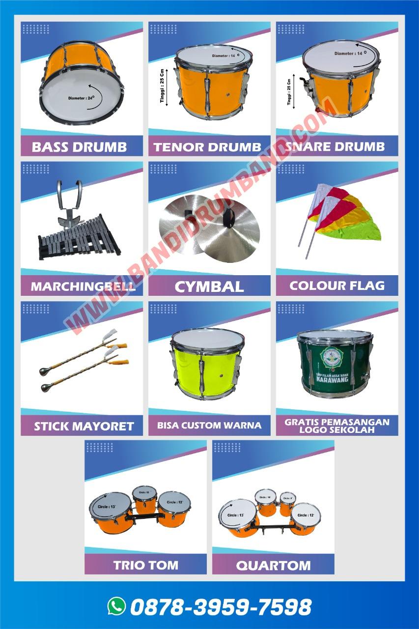 jual drumband dan alat marchingband SMA