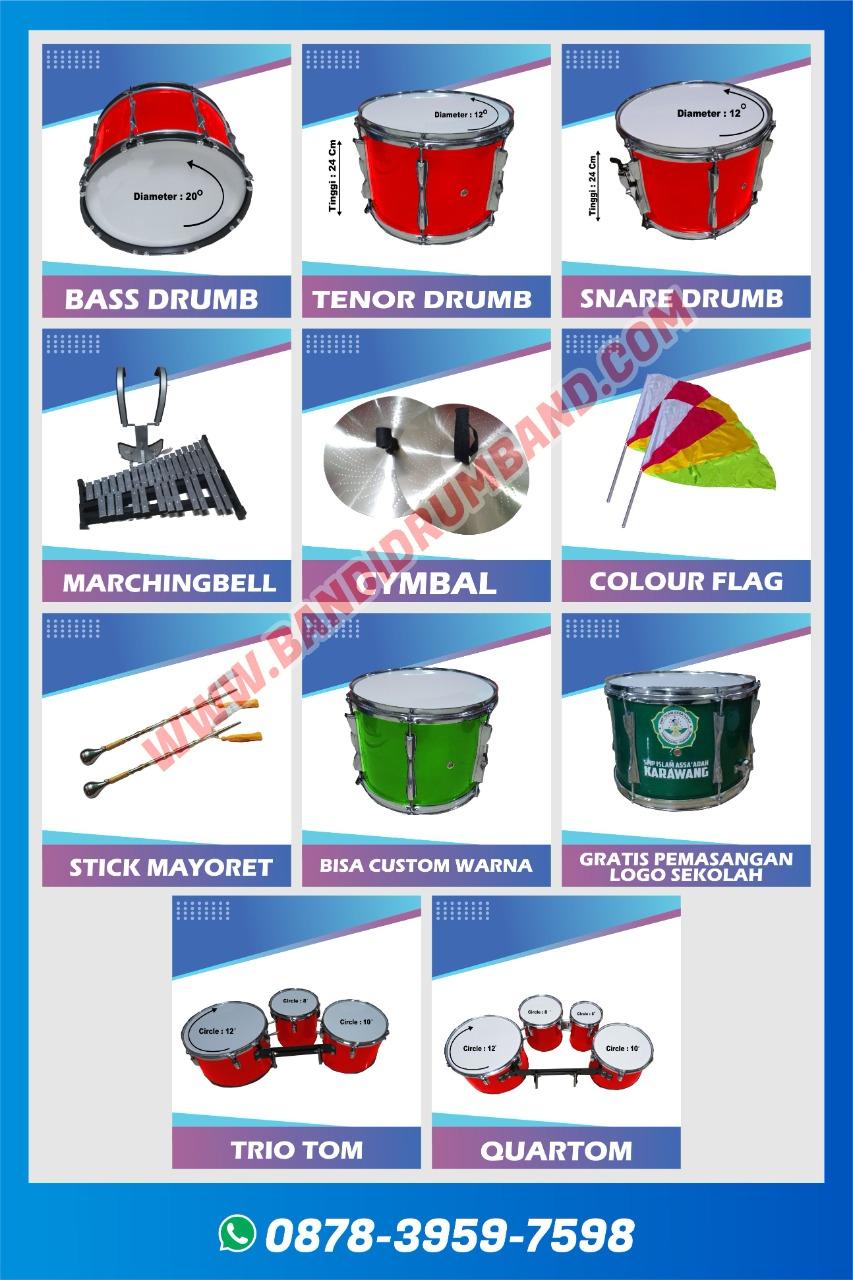 jual drumband dan alat marchingband sd