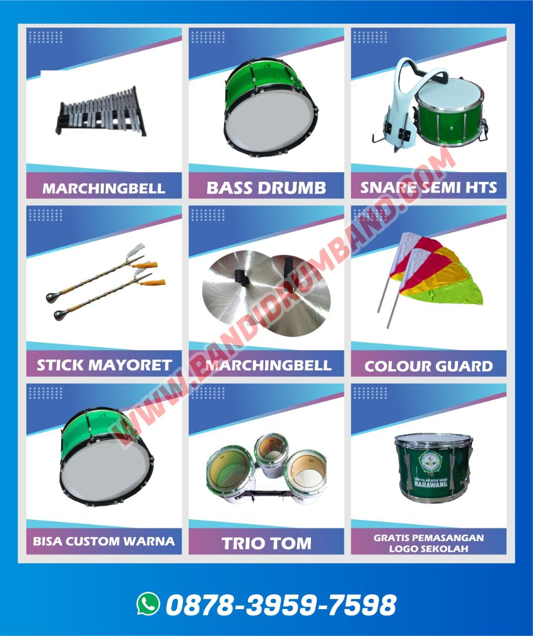 jual drumband dan alat marchingband semi marching sd