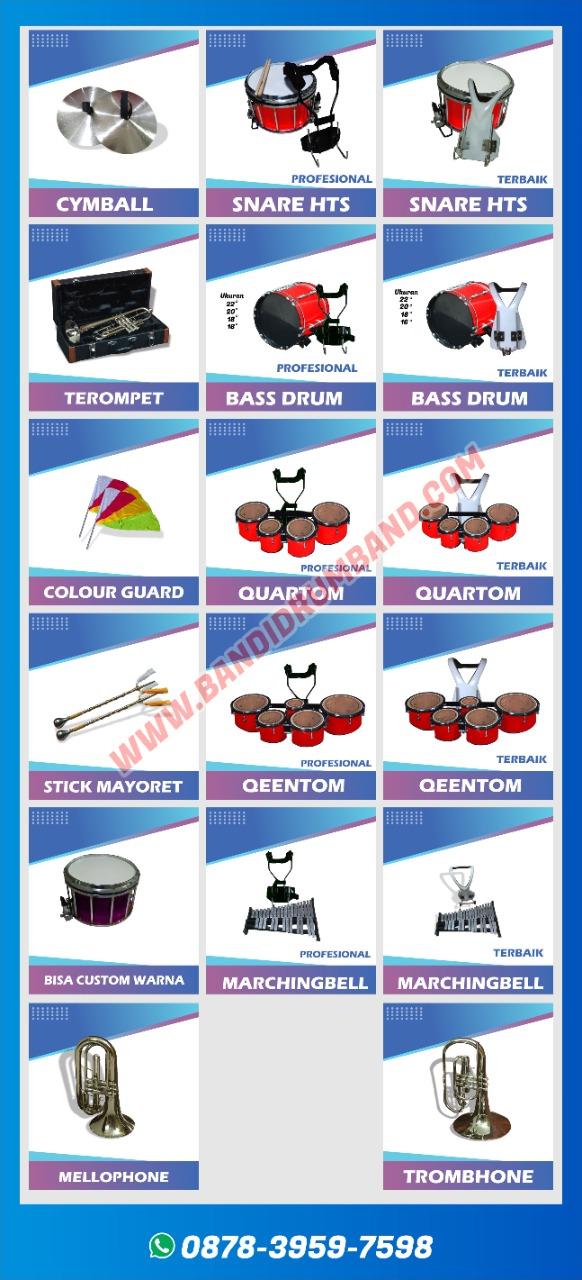 jual drumband dan alat marchingband sma berkualitas