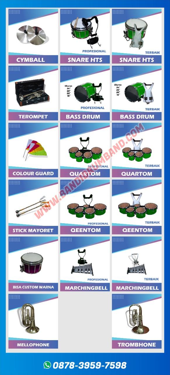 jual drumband dan alat marchingband smp terlengkap