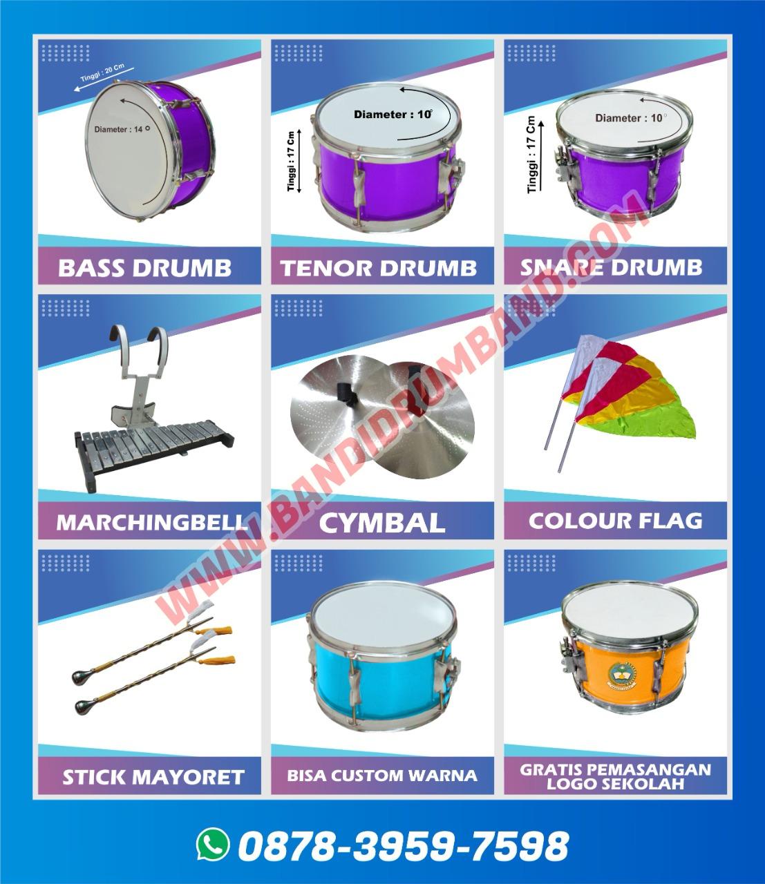 jual drumband dan alat marchingband tk